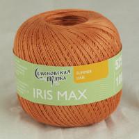 Пряжа хлопок мерсеризованный IRIS max /ИРИС макс