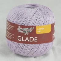 Смесовая пряжа со льном Glade /Поляна
