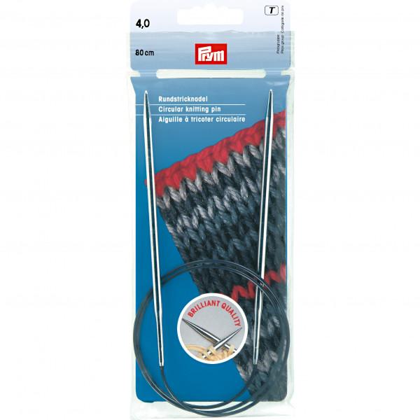 Круговые спицы для вязания Спицы На Леске 4.0Мм 80См