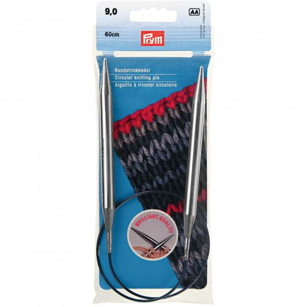 Круговые спицы для вязания Спицы На Леске 9,0Мм 60См