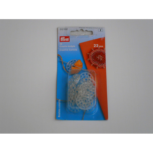 Инструменты для рукоделия Пуговицы Декор. Пластик 22Мм