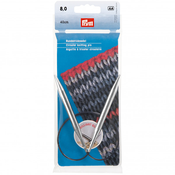 Круговые спицы для вязания Спицы На Леске 8,00Мм40См