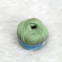 Пряжа хлопок мерсеризованный Цветное кружево